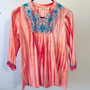 Cupcakes and Pastries Tie-Dye Blouse, Size 7